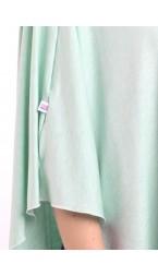 Mint Mist Nursing Poncho - Modal Spandex
