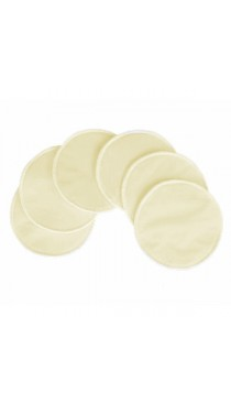 Um Washable Nursing Bra Pads (6 pack)-Beige
