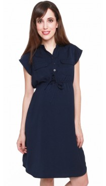 Avenue Dress - Midnight Blue