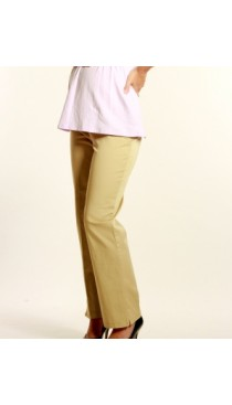 UM Cotton Twill Pants-Sand Dune