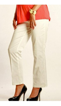 UM Cotton Twill Pants-White   (20% off.Promo ends 4/1)